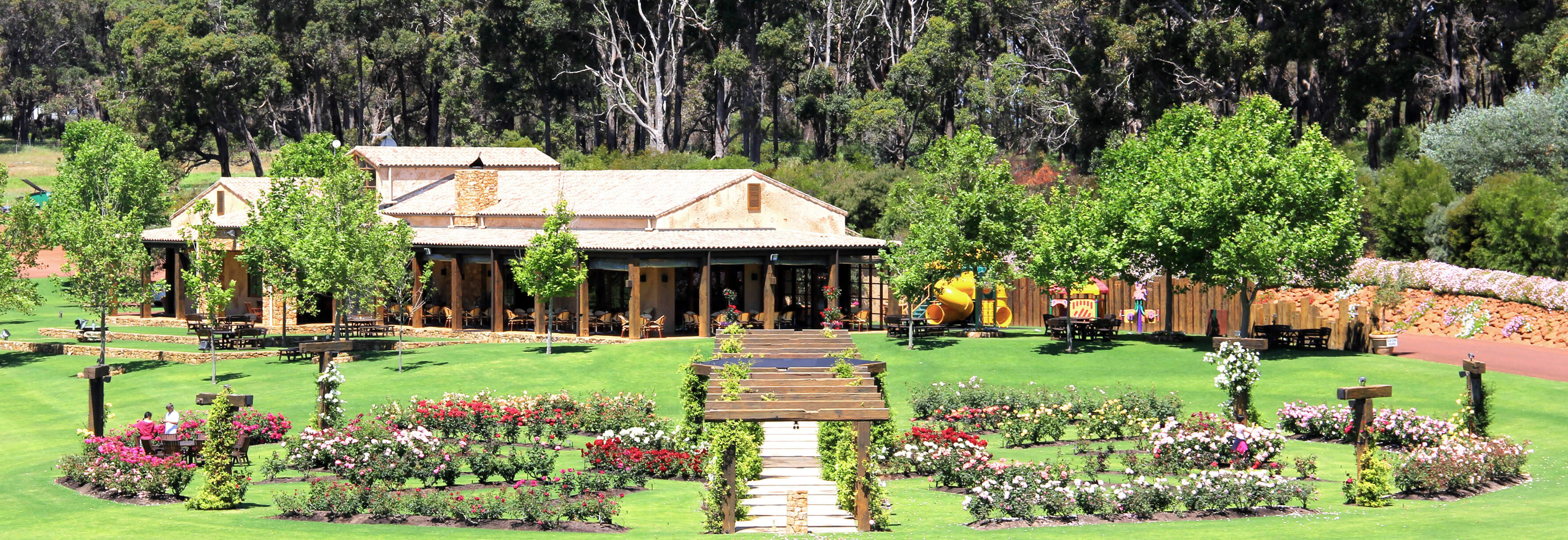 Margaret River Cellar Door gardens
